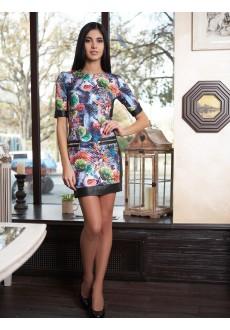 Стёганое платье Nessa