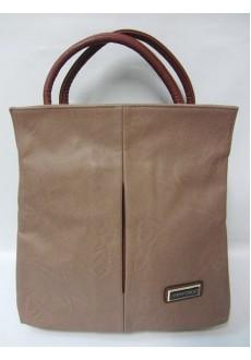 Бежевая сумка Alessia